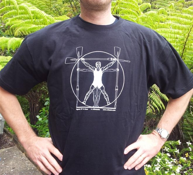 XY He Row: out-of-shape webmaster type models the He Row tee!